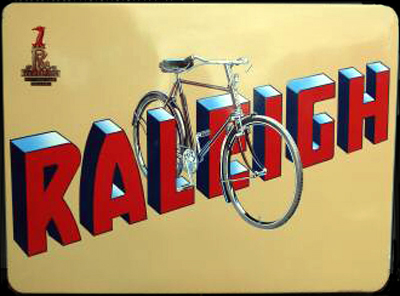 Raleigh Sports Bicycle on The Raleigh All Steel Bicycle