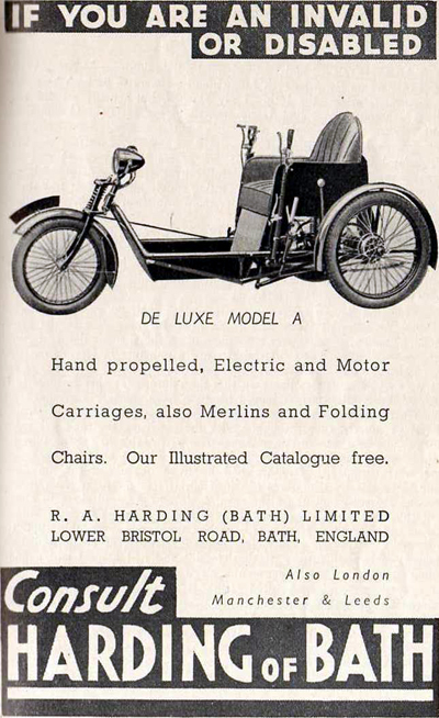 1956 Harding Model C TWS Tricycle Motorized 32cc « www.