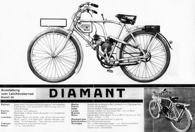 PAGE 48. German Cyclemotors: Fichtel & Sachs 'Model 1932